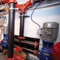 mobile unit pipes