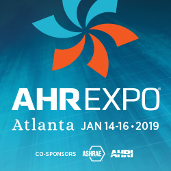 AHR EXPO 2019 SHOW BANNER
