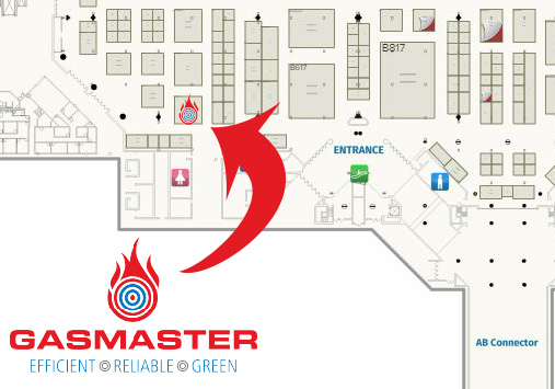 Gasmaster Industries booth location for AHR Expo 2019