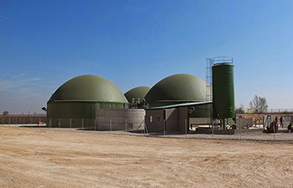 Anaerobic digesters require a constant heat to run efficiently.