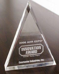 AHR Expo Innovation Award - 2006
