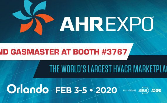 Visit Gasmaster, Booth 3767 at the AHR Expo 2020