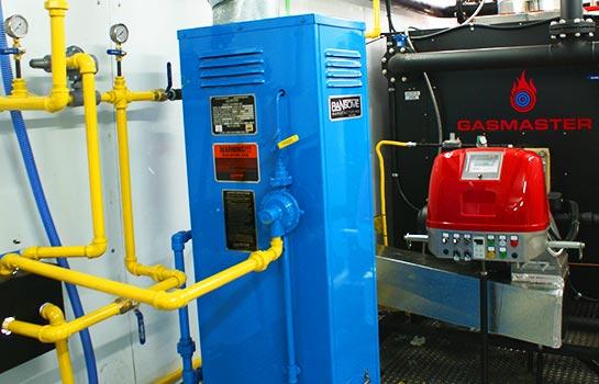Gasmaster Custom Mobile Boiler Unit ASME Propane Vaporizer