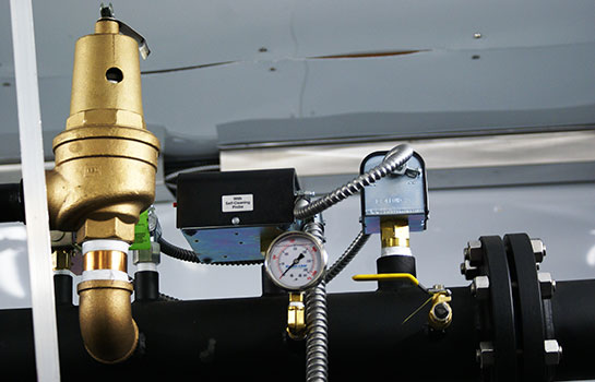 Gasmaster Custom Mobile Boiler Unit Intricate Piping and Safety Controls