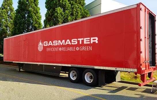 Gasmaster Custom Mobile Boiler Unit Custom Branding