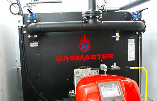Gasmaster Custom Mobile Boiler Unit with GMI 4M