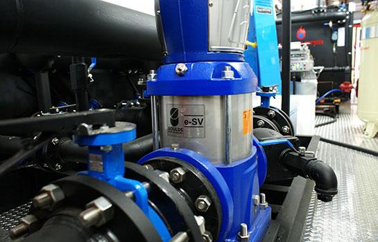 Gasmaster Custom Mobile Boiler Unit Electric Water Pumps