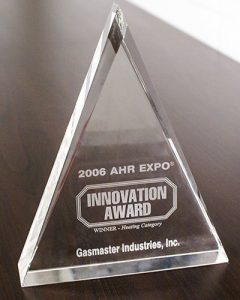 AHR Innovation Award 2006 Heating Category Winner
