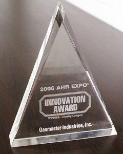 AHR Innovation Award 2006 Heating Category Winner