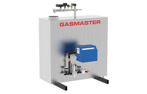 Gasmaster GMI Series GMI 1.5M BTU high-efficiency condensing boiler.