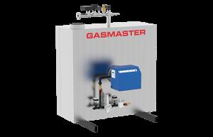 Gasmaster GMI Series GMI 1.5M BTU high-efficiency condensing boiler.