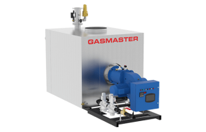 Gasmaster GMI Series GMI 12M BTU high-efficiency condensing boiler.