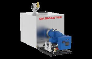 Gasmaster GMI Series GMI 12M BTU high-efficiency condensing boiler.