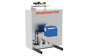 Gasmaster GMI Series GMI 1M BTU high-efficiency condensing boiler.