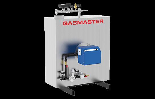 Gasmaster GMI Series GMI 1M BTU high-efficiency condensing boiler.