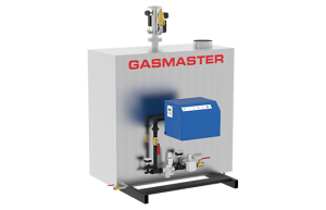 Gasmaster GMI Series GMI 2M BTU high-efficiency condensing boiler.