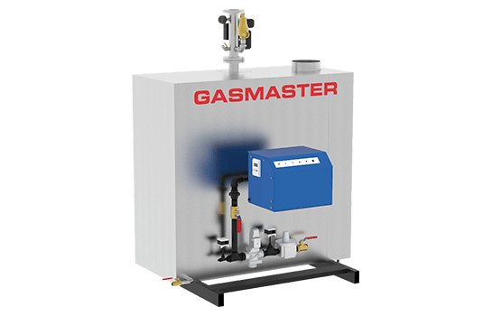 Gasmaster GMI Series GMI 2M BTU high-efficiency condensing boiler.