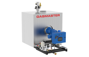 Gasmaster GMI Series GMI 4M BTU dual fuel high-efficiency condensing boiler.