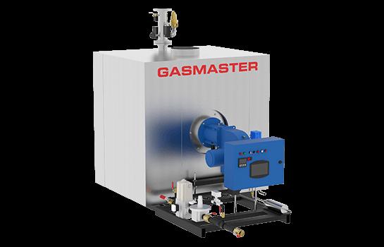 Gasmaster GMI Series GMI 4M BTU dual fuel high-efficiency condensing boiler.
