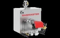 Gasmaster GMI Series GMI 4M BTU dual gas high-efficiency condensing boiler.