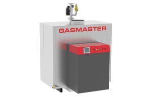 Gasmaster GMI Series GMI 4M BTU high-efficiency condensing boiler.
