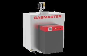 Gasmaster GMI Series GMI 4M BTU high-efficiency condensing boiler.