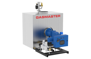 Gasmaster GMI Series GMI 6M BTU high-efficiency condensing boiler.