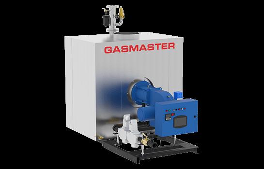 Gasmaster GMI Series GMI 6M BTU high-efficiency condensing boiler.
