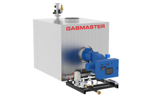 Gasmaster GMI Series GMI 8M BTU dual fuel high-efficiency condensing boiler.
