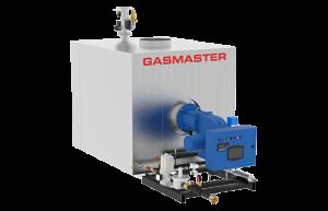 Gasmaster GMI Series GMI 8M BTU dual fuel high-efficiency condensing boiler.