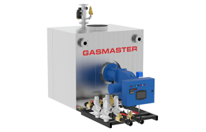 Gasmaster GMI Series GMI 8M BTU dual gas high-efficiency condensing boiler.