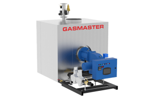Gasmaster GMI Series GMI 8M BTU high-efficiency condensing boiler.