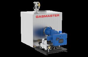 Gasmaster GMI Series GMI 8M BTU high-efficiency condensing boiler.