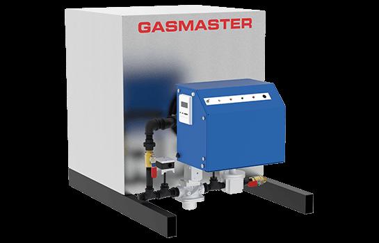 Gasmaster HC Series HC 1000 1M BTU high-efficiency condensing boiler.
