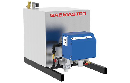 Gasmaster HC Series HC 1500 1.5M BTU high-efficiency condensing boiler.