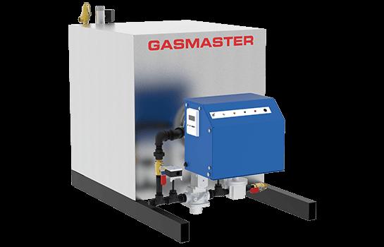 Gasmaster HC Series HC 1500 1.5M BTU high-efficiency condensing boiler.