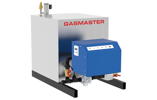 Gasmaster HC Series HC 2000 2M BTU high-efficiency condensing boiler.