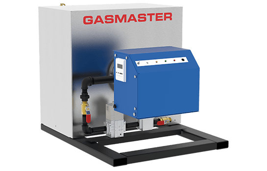 Gasmaster HC Series HC 600 600K BTU high-efficiency condensing boiler.