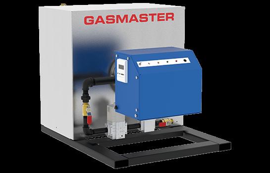 Gasmaster HC Series HC 600 600K BTU high-efficiency condensing boiler.