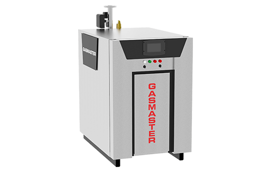 Gasmaster NX Series NX 1000 1M BTU high-efficiency condensing boiler.