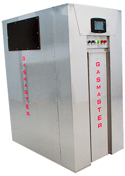 Gasmaster NX Series Showroom Model NX 3000 3M BTU high-efficiency condensing boiler.