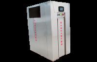 Gasmaster NX Series Showroom Model NX 3000 3M BTU high-efficiency condensing boiler.