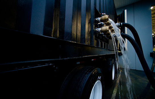 Exterior of Gasmaster Custom Mobile Boiler Unit Intricate Piping
