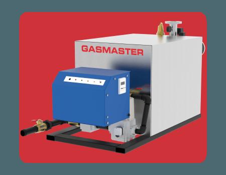 Gasmaster HC Series HC 2500 2.5M BTU high-efficiency condensing boiler.